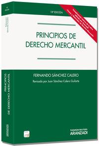(18ª Ed. )  Principios De Derecho Mercantil (+proview) - Juan Sanchez Calero Guilarte