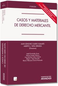 (2ª Ed. )  Casos Y Materiales De Derecho Mercantil (+proview) - Fernando Sanchez Calero