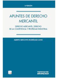 (14ª Ed. )  Apuntes De Derecho Mercantil (+proview) - A. Bercovitz Rodriguez-cano