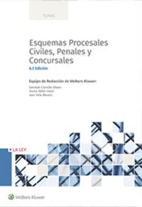 (6 ED) ESQUEMAS PROCESALES CIVILES, PENALES Y CONCURSALES