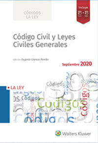 CODIGO CIVIL Y LEYES CIVILES GENERALES 2020 (INCLUYE SMARTECA)