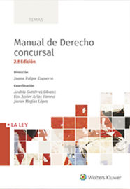 (2 Ed) Manual De Derecho Concursal 2019 - Juana Pulgar Ezquerra