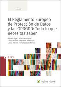 REGLAMENTO EUROPEO DE PROTECCION DE DATOS Y LA LOPDGDD, EL - TODO LO QUE NECESITAS SABER