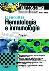 Lo Esencial En Hematologia E Inmunologia (+student Consult) - Yousef Gargani