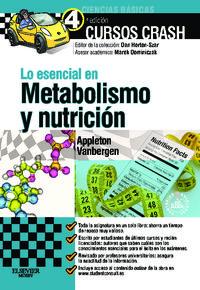 Lo Esencial En Metabolismo Y Nutricion (+studenconsult) - Amber  Appleton  /  Olivia  Vanbergen