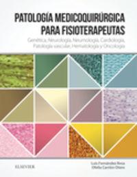 PATOLOGIA MEDICO-QUIRURGICA PARA FISIOTERAPEUTAS