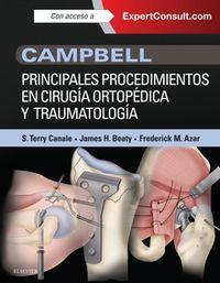 CAMPBELL - PRINCIPALES PROCEDIMIENTOS EN CIRUGIA ORTOPEDICA