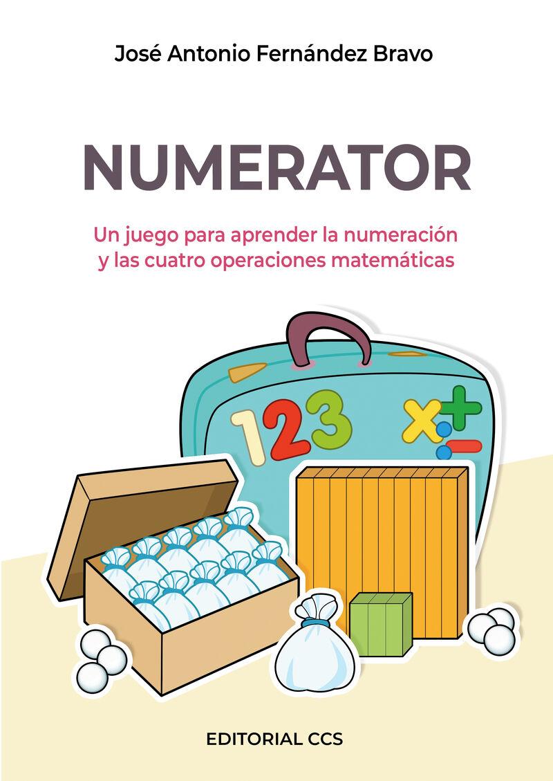 (2 ED) (PACK) NUMERATOR - UN JUEGO PARA APRENDER LA NUMERACION Y LAS CUATRO OPERACIONES MATEMATICAS