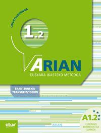 ARIAN A1.2 - LAN-KOADERNOA (+ERANTZUNAK)