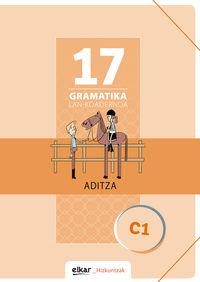 GRAMATIKA LAN-KOADERNOA 17 (C1) ADITZA
