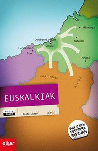 Euskalkiak (+mapa) - Koldo Zuazo Zelaieta