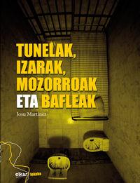 Tunelak, Izarak, Mozorroak Eta Bafleak - Josu Martinez Martinez