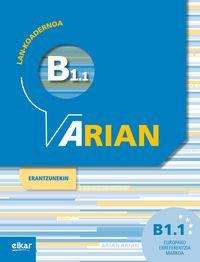 ARIAN B1.1 LAN-KOADERNOA (+ERANTZUNAK)