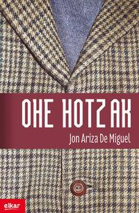 Ohe Hotzak - Jon Ariza De Miguel