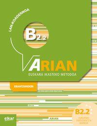 ARIAN B2.2 LAN-KOADERNOA (+ERANTZUNAK)