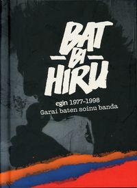 (LIB+CD) BAT BI HIRU - EGIN 1977-1998