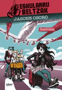 """Eskularru Beltzak - Ikasbidaia - Jasone Osoro Igartua / J. """"josevisky"""" Larratxe (il. )"""