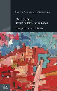 GERNIKA 81 - TXORIA BADATOR, TXORIA BADOA