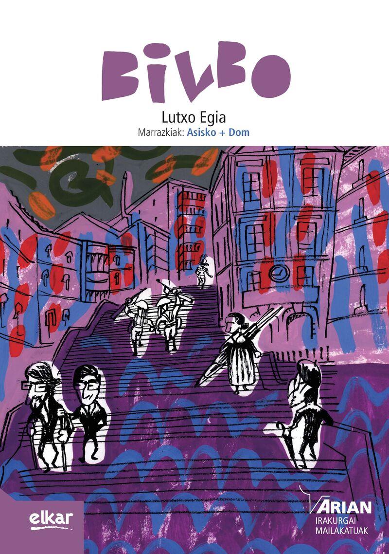 Bilbo (b1) (+cd) - Lutxo Egia Del Rocio / Asisko + Dom (il. )