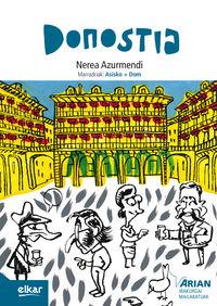 Donostia (b1) (+cd) - Nerea Azurmendi / Asisko + Dom (il. )