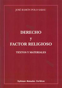 DERECHO Y FACTOR RELIGIOSO