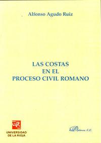 Las costas en el proceso civil romano - Alfonso Agudo Ruiz