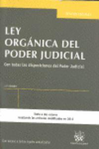 LEY ORGANICA DEL PODER JUDICIAL (13ª ED)