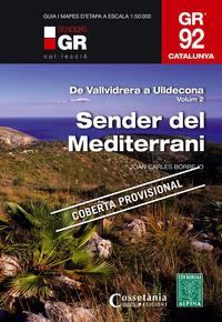 Gr 92 Sud - Sender Del Mediterrani - De Vallvidrera Al Pont De Moliner - Juan Carlos Borrego