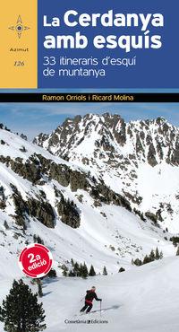 La cerdanya amb esquis - Ramon Orriols Puig / Ricard Molina Giro