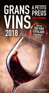 GRANS VINS A PETITS PREUS 2018