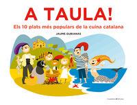 A TAULA! - ELS 10 PLATS MES POPULARS DE LA CUINA CATALANA