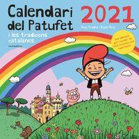 CALENDARI DEL PATUFET 2021 - I LES TRADICIONS CATALANES