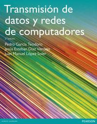 (2 Ed) Transmision De Datos Y Redes De Computadoras - Pedro Garcia