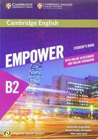 Empower Upper-Interm B2 (spanish Ed) (+online Assessment And Practice) (+online Wb) - Adrian Doff / Craig Thaine / [ET AL. ]