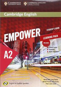 Camb Eng Empower For Spanish Speak A2 Learning Pack - Adrian Doff / Craig Thaine / [ET AL. ]
