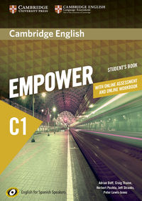 EMPOWER ADVANCED C1 (+ONLINE WB) (+ONLINE ASSESSMENT AND PRACTICE) FOR SPANISH SPEAKERS