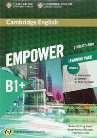 Camb Eng Empower For Spanish Speak B1+ Learning Pack - Adrian Doff / Craig Thaine / [ET AL. ]
