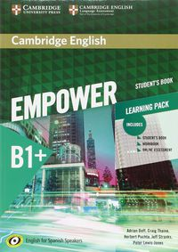 Camb Eng Empower For Spanish Speak B1+ Learning Pack - Adrian Doff / Craig Thaine / [ET AL. ]