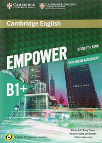Camb Eng Empower For Spanish Speak B1+ (+online) - Adrian Doff / Craig Thaine / [ET AL. ]