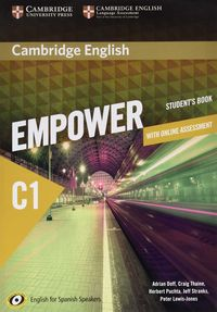 EMPOWER ADVANCED C1 LEARNING (ST+WB) (+ONLINE ASSESSMENT AND PRACTICE) FOR SPANISH SPEAKERS