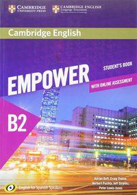 Empower Upper-Interm B2 (spanish Ed) (+online Assessment And Practice) - Adrian Doff / Craig Thaine / [ET AL. ]