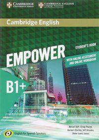 Empower Interm B1+ (spanish Ed) (+online Assessment And Practice) (+online Wb) - Adrian Doff / Craig Thaine / [ET AL. ]
