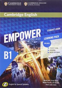 Empower Pre-Interm B1 (spanish Ed) (+wb) (+online Assessment And Practice) - Adrian Doff / Craig Thaine / [ET AL. ]