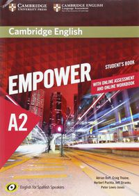 Empower Elem A2 (spanish Ed) (+online Assessment And Practice) (+online Wb) - Adrian Doff / Craig Thaine / [ET AL. ]