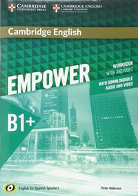 Empower Interm B1+ (spanish Ed) Wb W / Key (+audio / Video Download) - Peter Anderson