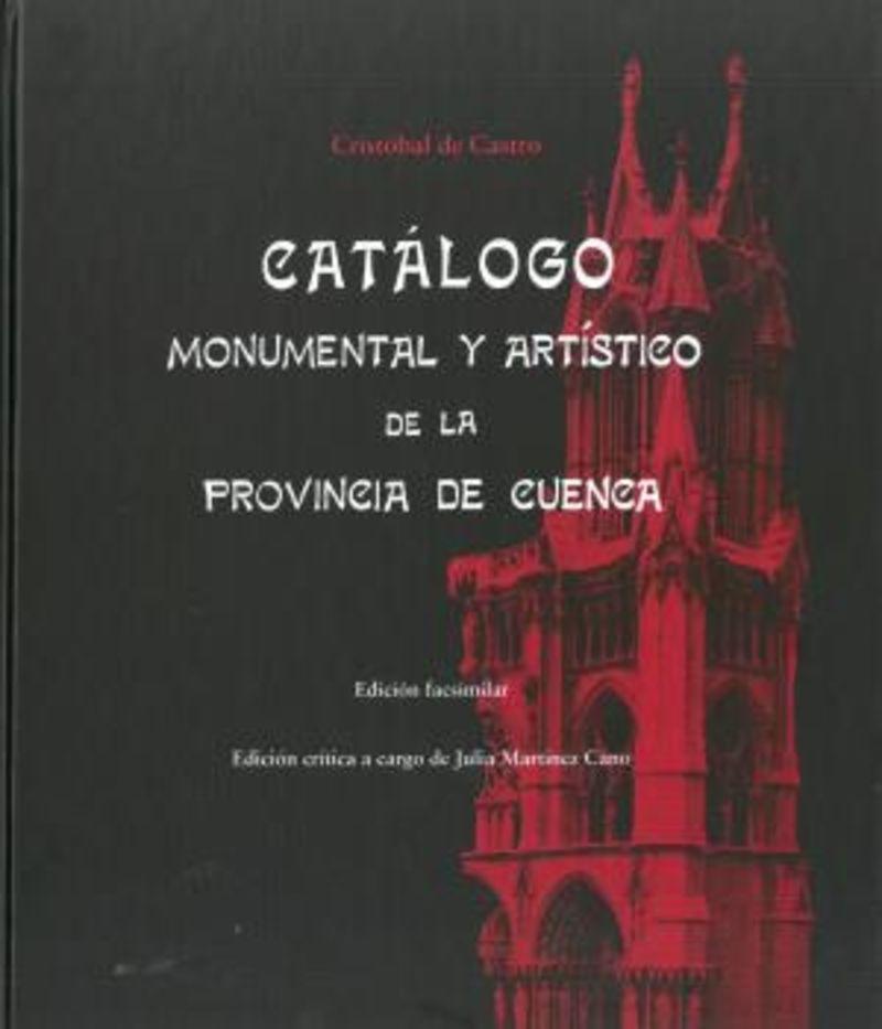 CATALOGO MONUMENTAL Y ARTISTICO DE LA PROVINCIA DE CUENCA