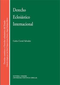 DERECHO ECLESIASTICO INTERNACIONAL