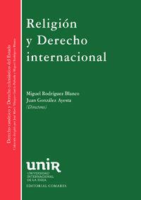 RELIGION Y DERECHO INTERNACIONAL