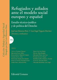 REFUGIADOS Y ASILADOS ANTE EL MODELO SOCIAL EUROPEO Y ESPAÑOL - ESTUDIO TECNICO-JURIDICO Y DE POLITICA DEL DERECHO