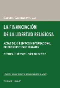 FINANCIACION DE LA LIBERTAD RELIGIOSA, LA